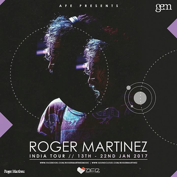 Roger Martinez Tour Dates