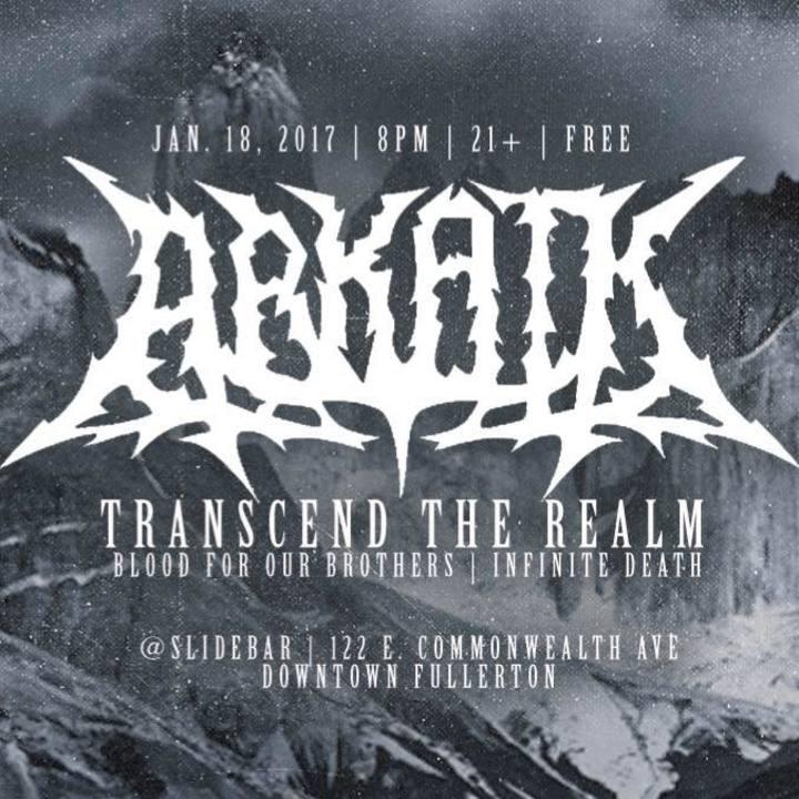 Arkaik Tour Dates