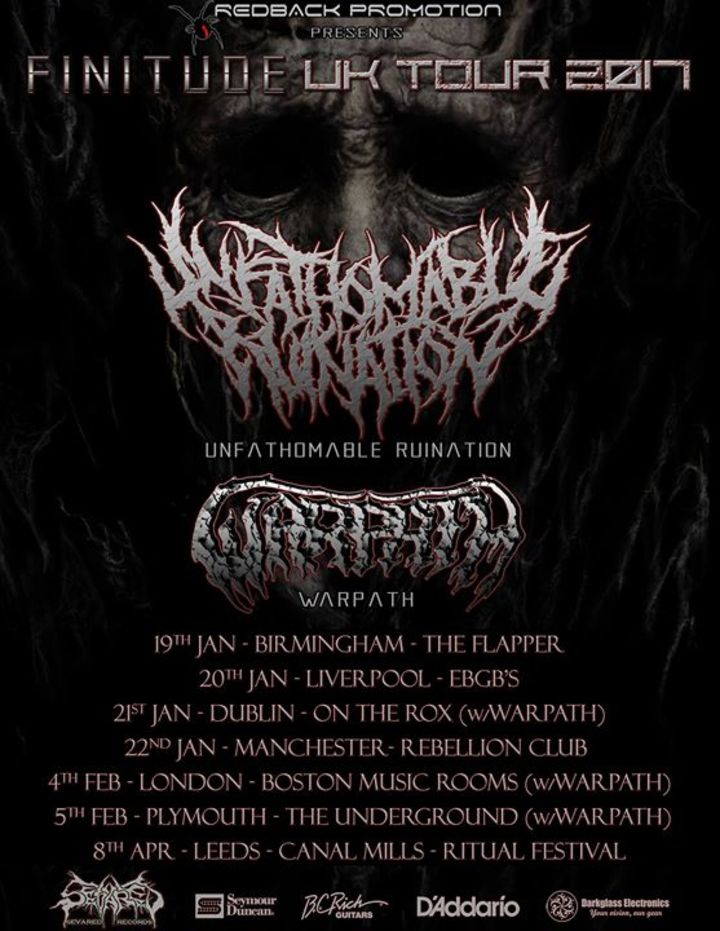 Unfathomable Ruination @ The Junction - Plymouth, United Kingdom
