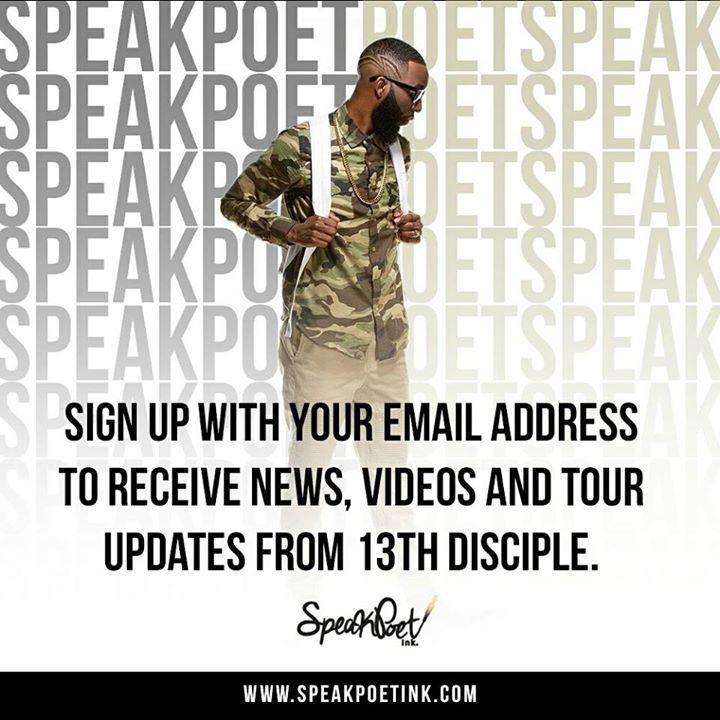 13th Disciple Tour Dates