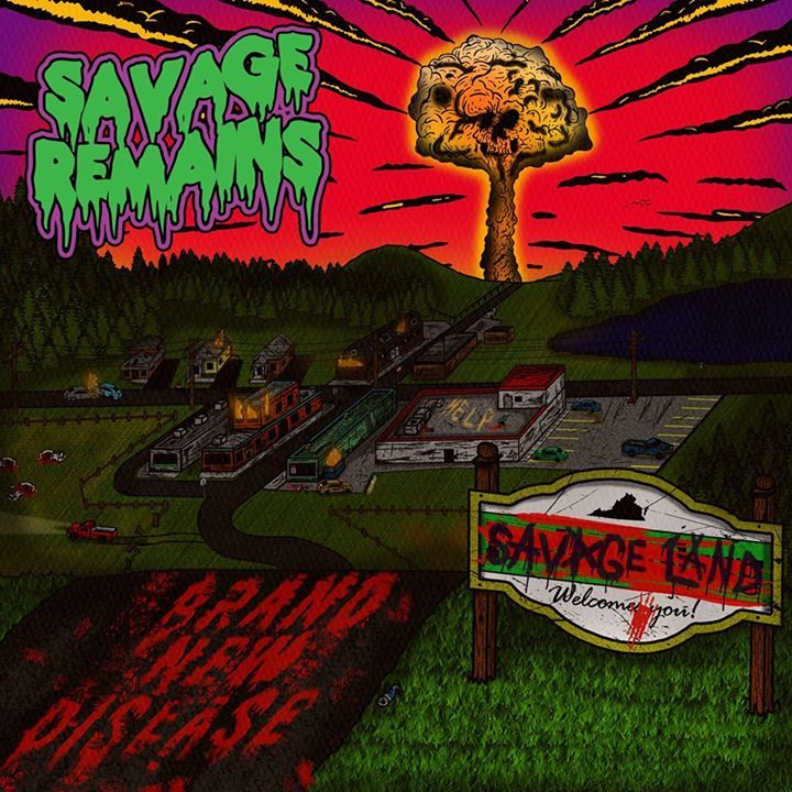 Savage Remains @ The Fallout Shelter - Aliquippa, PA