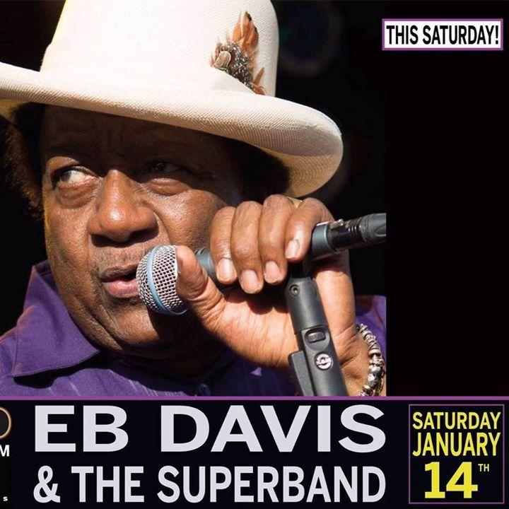 The EB Davis Superband Tour Dates