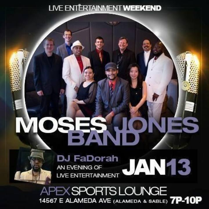 Moses Jones Band Tour Dates