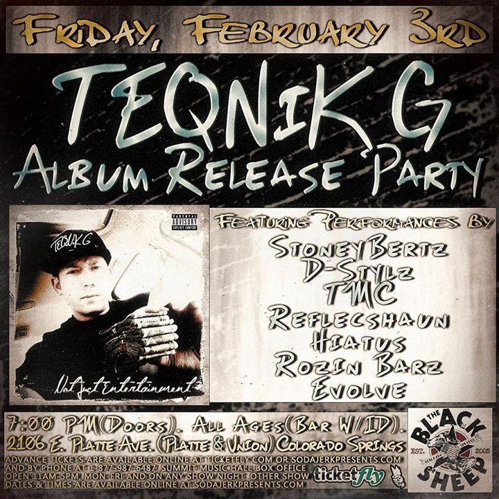 TEQNiK G Tour Dates
