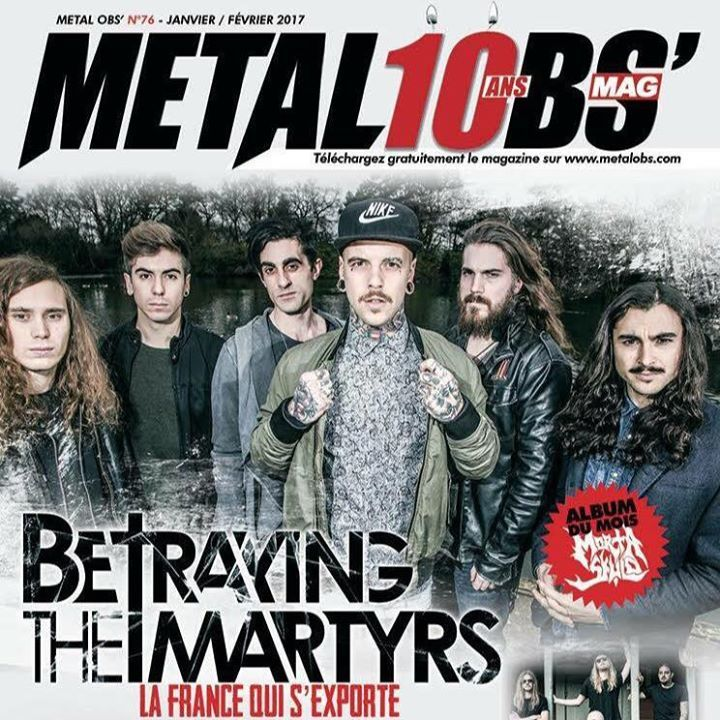 BETRAYING THE MARTYRS Tour Dates