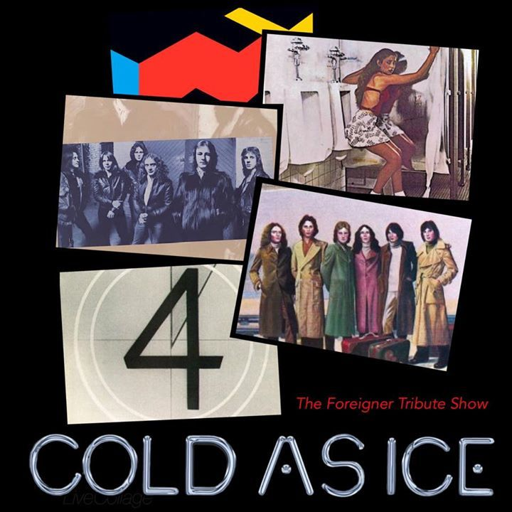 Cold As Ice New England's Ultimate Foreigner Tribute Band @ The Palace Theater - Manchester, NH