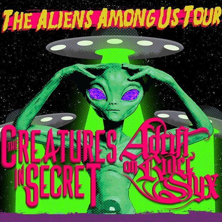 Adrift on River Styx Tour Dates