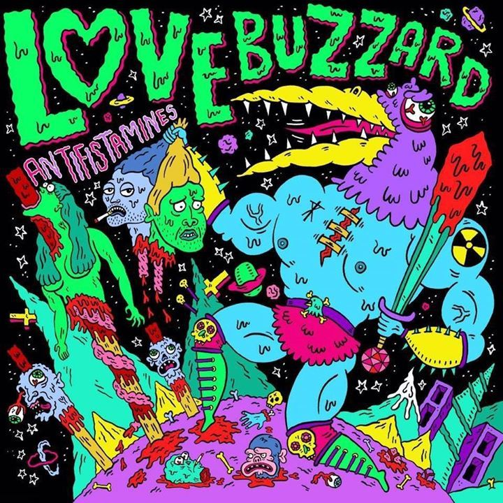 Love Buzzard Tour Dates