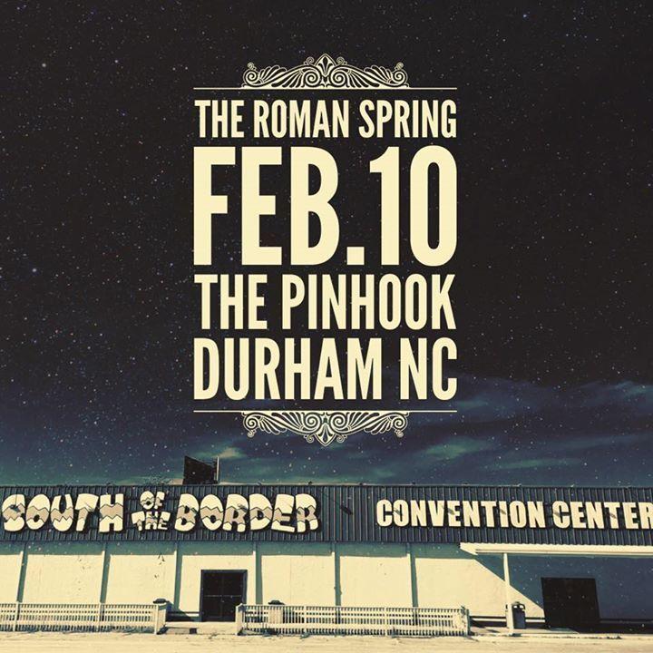 The Roman Spring Tour Dates