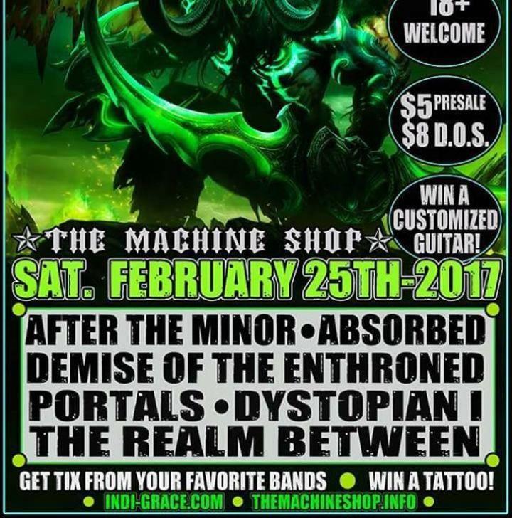 Dystopian I Tour Dates