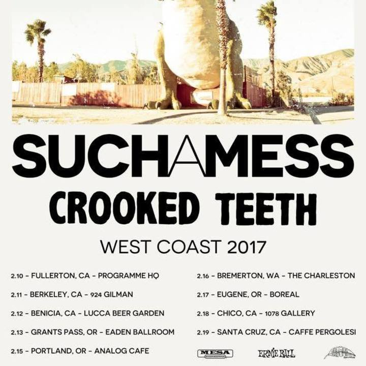 Crooked Teeth Tour Dates