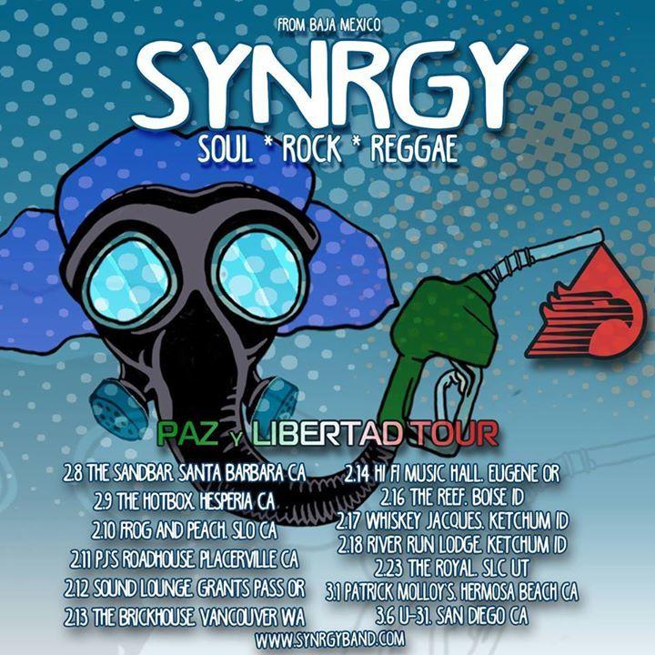 Synrgy Tour Dates