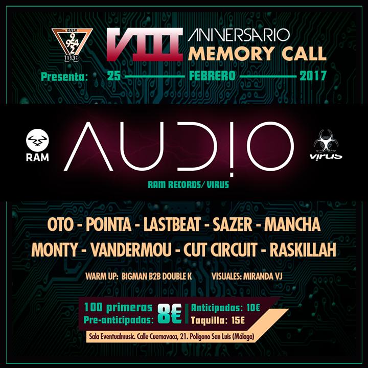 Memory Call Company Tour Dates