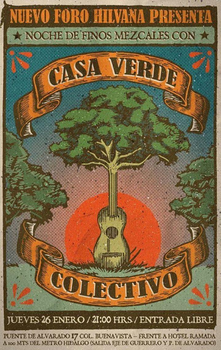 Casa Verde Colectivo Tour Dates
