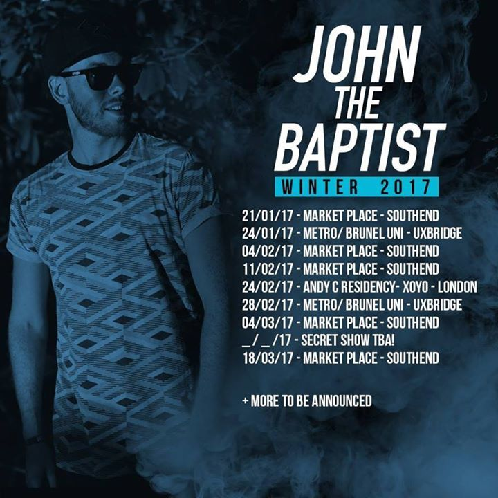 John The Baptist Tour Dates