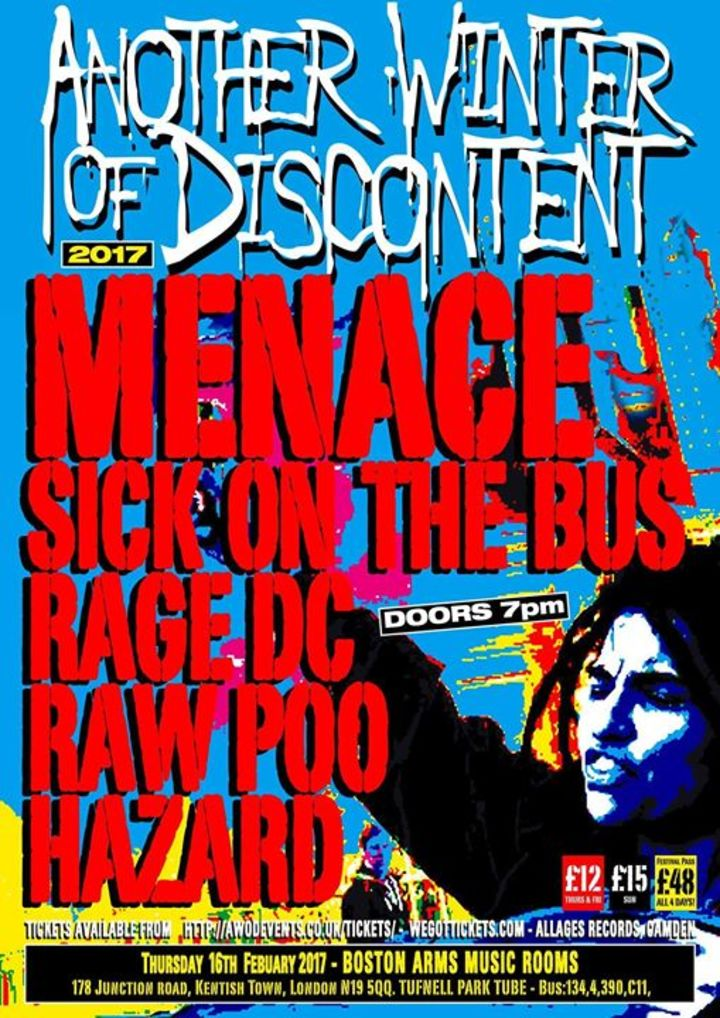 Raw Poo Tour Dates