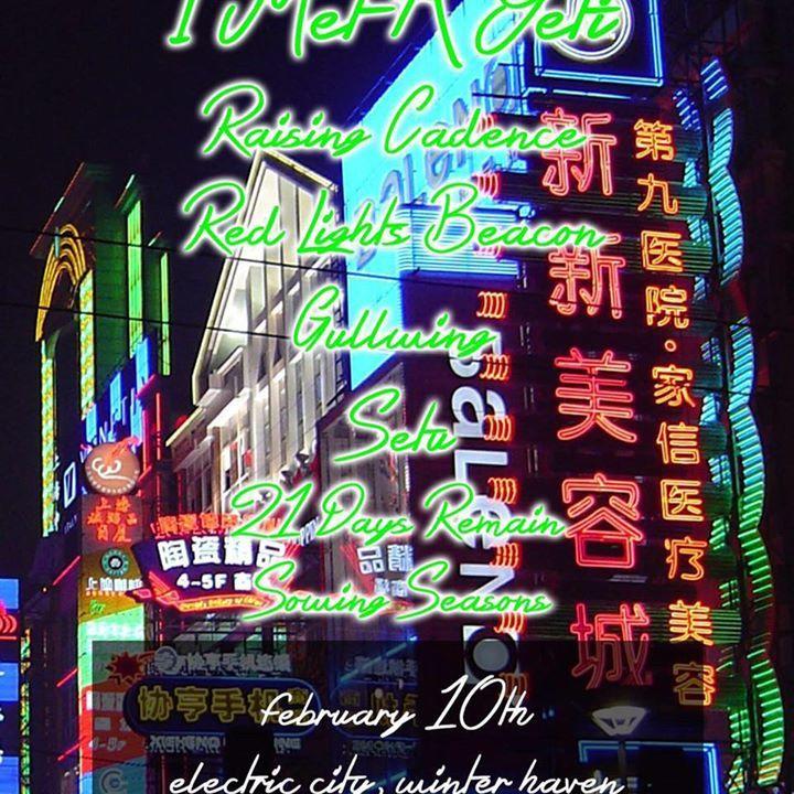21 Days Remain Tour Dates