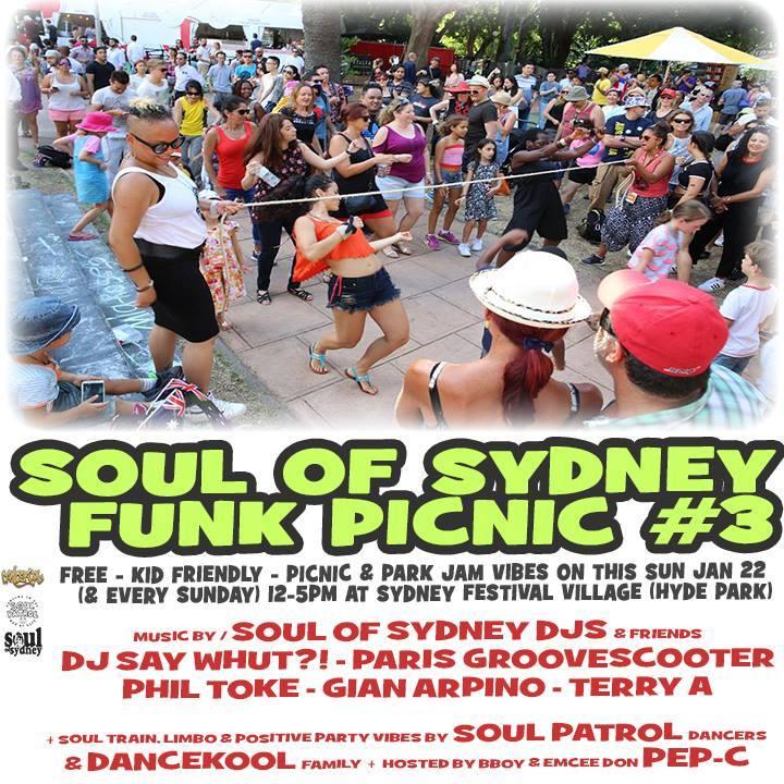 Soul Of Sydney Tour Dates