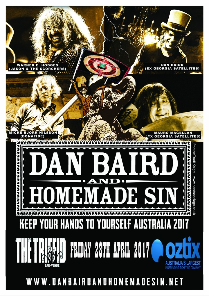 Dan Baird and Homemade Sin @ Triffid - Brisbane, Australia
