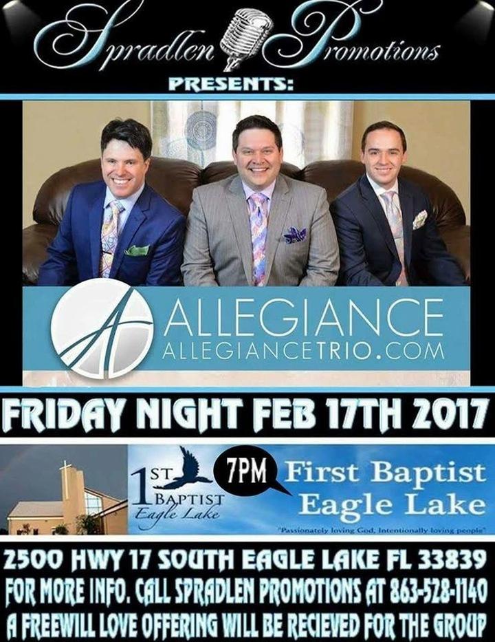 Allegiance Music Ministries @ First Baptist Church - Eagle Lake, FL