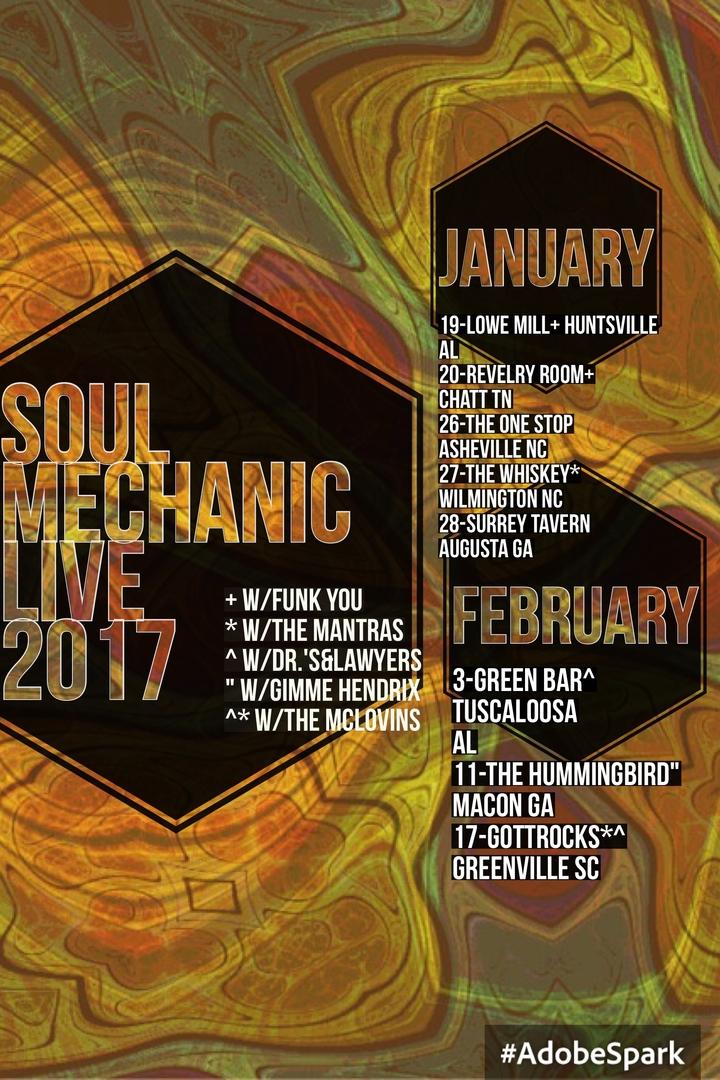 Soul Mechanic Tour Dates