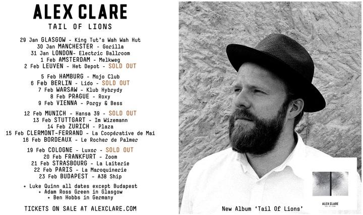 Alex Clare @ Het Depot - Leuven, Belgium