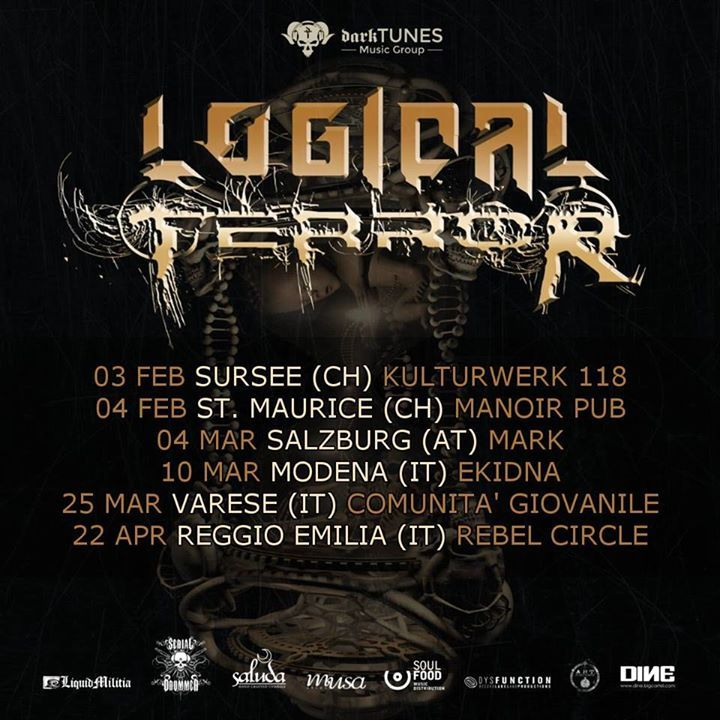 LOGICAL TERROR @ Kulturwerk 118 - Sursee, Switzerland