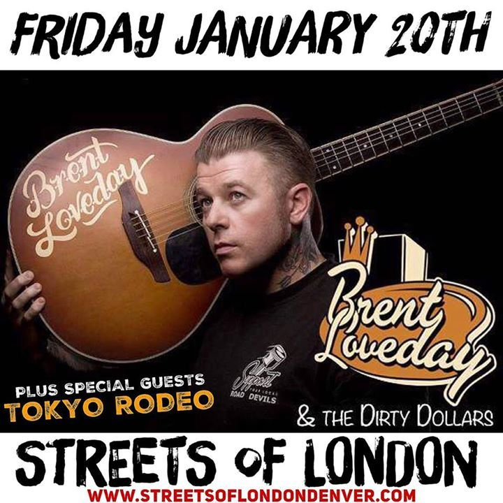 Brent Loveday Tour Dates