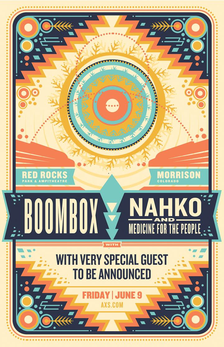 Boombox @ Red Rocks Ampihtheatre - Morrison, CO