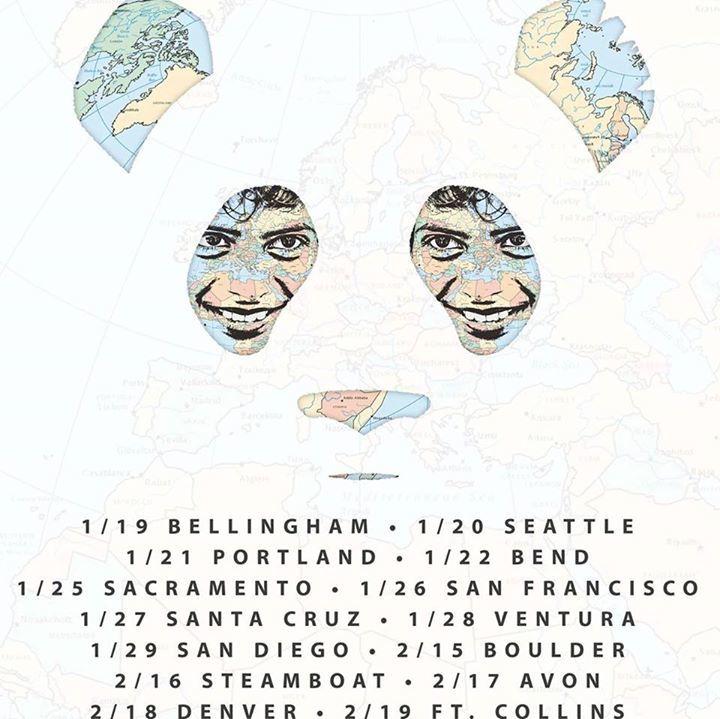 Giant Panda Guerilla Dub Squad Tour Dates