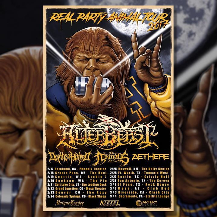 Alterbeast Tour Dates