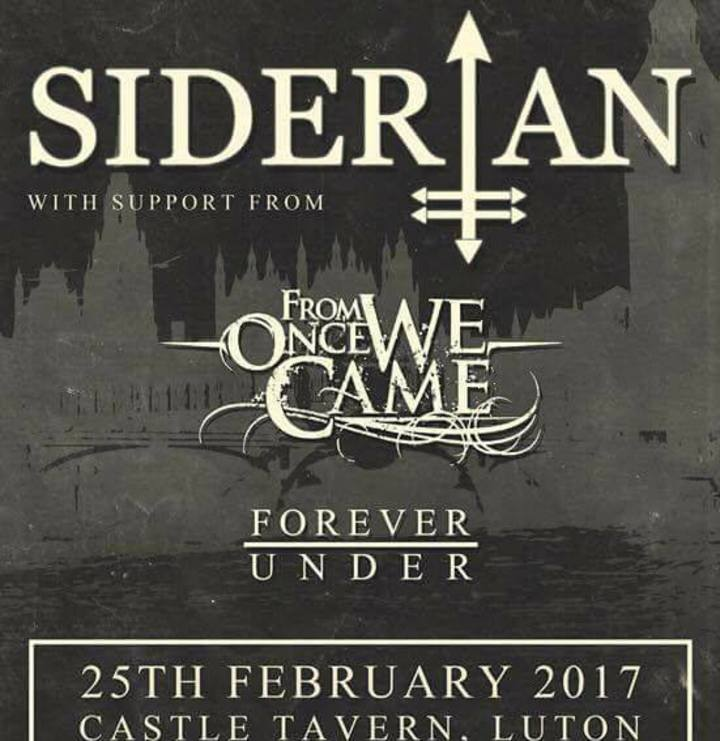Siderian Tour Dates