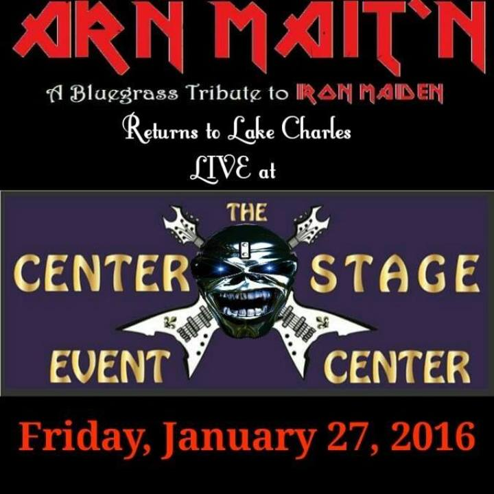 Arn Mait'n : A Bluegrass Tribute to Iron Maiden Tour Dates