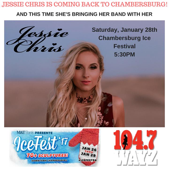 Jessie Chris Tour Dates