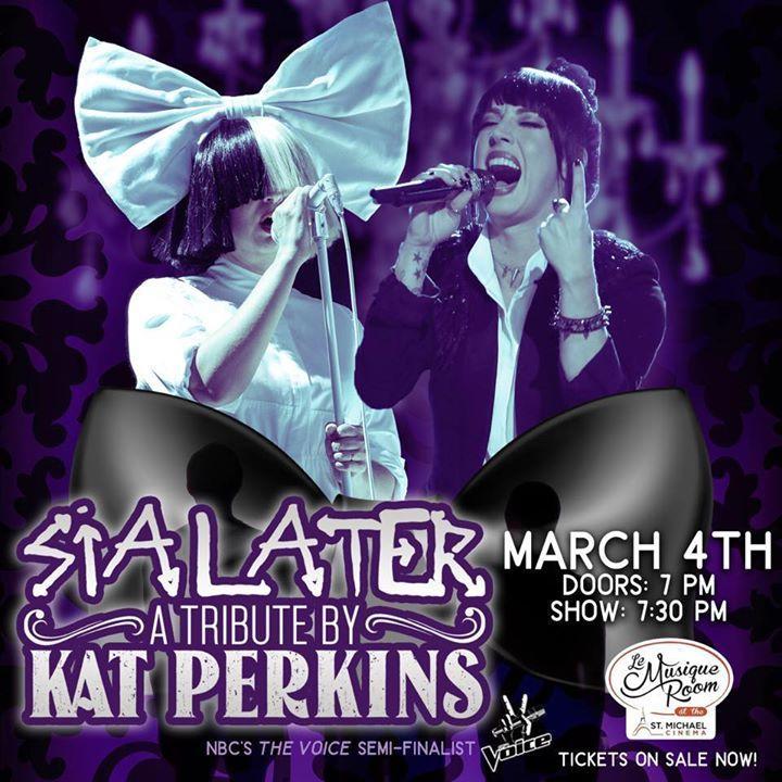 Kat Perkins @ Le Musique Room - Saint Michael, MN