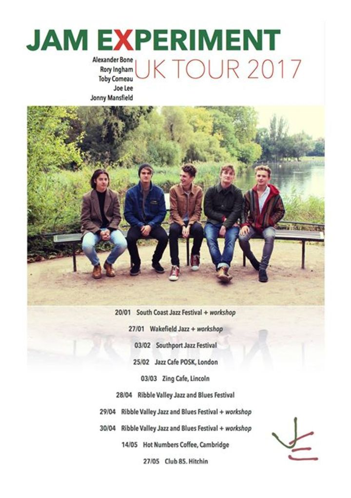 Jam Experiment Tour Dates