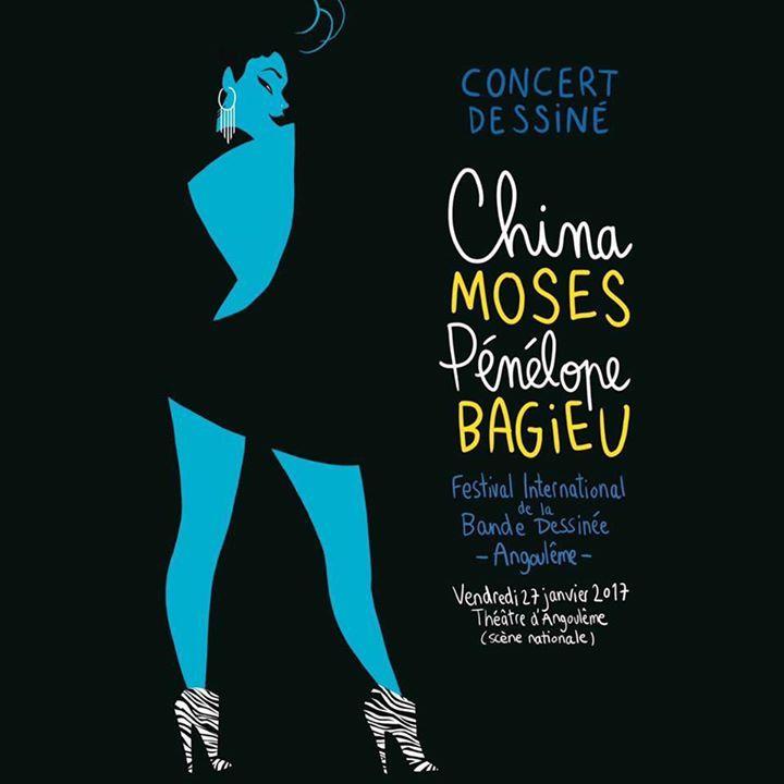 China Moses @ Duo Moses/Manoukian  - Fougeres, France