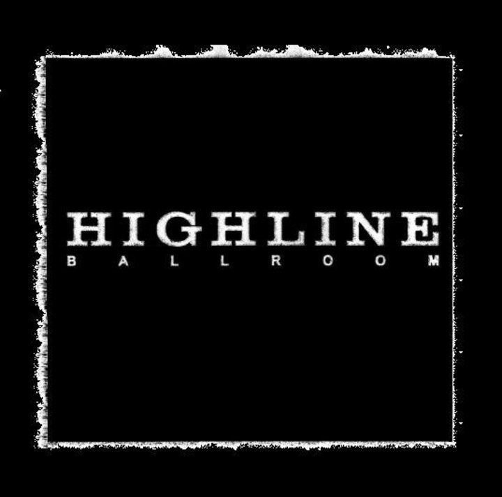 Highline Ballroom Tour Dates