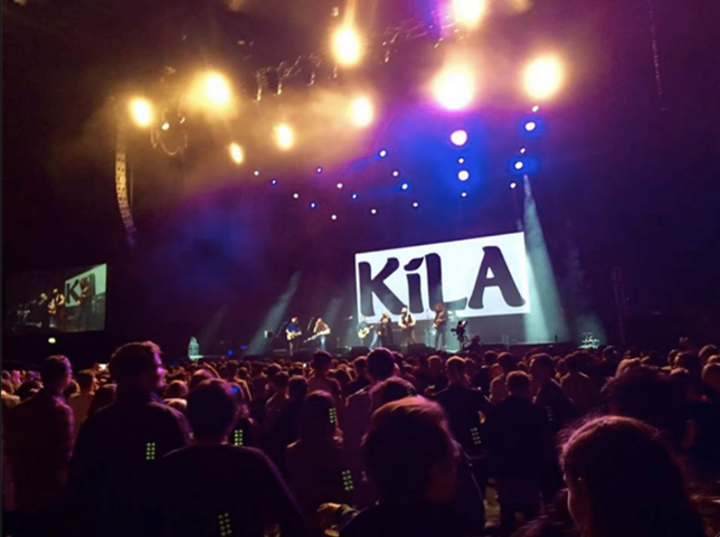 Kíla Tour Dates