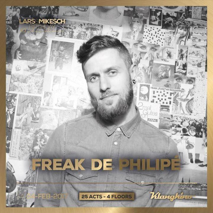 Freak de Philipè Tour Dates
