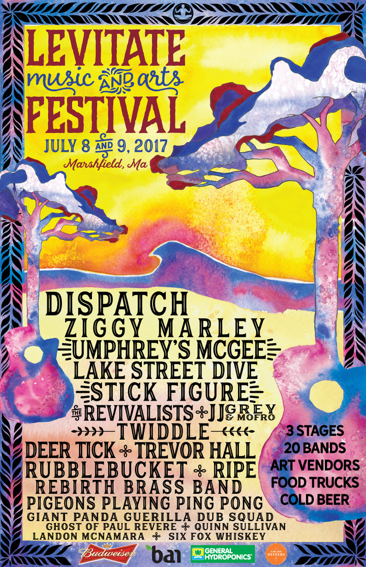 Levitate Music Festival @ Levitate Music Festival - Marshfield, MA
