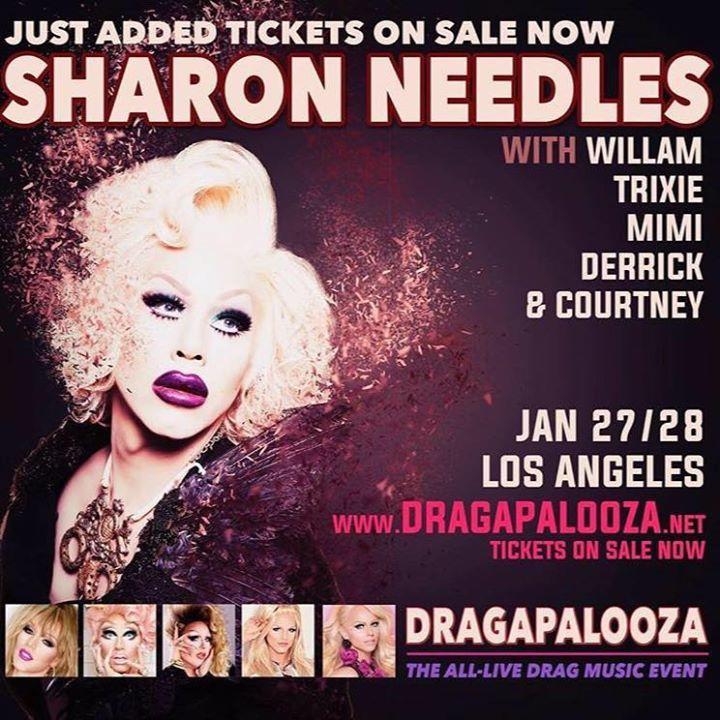 Sharon Needles @ The Novo by Microsoft - Los Angeles, CA