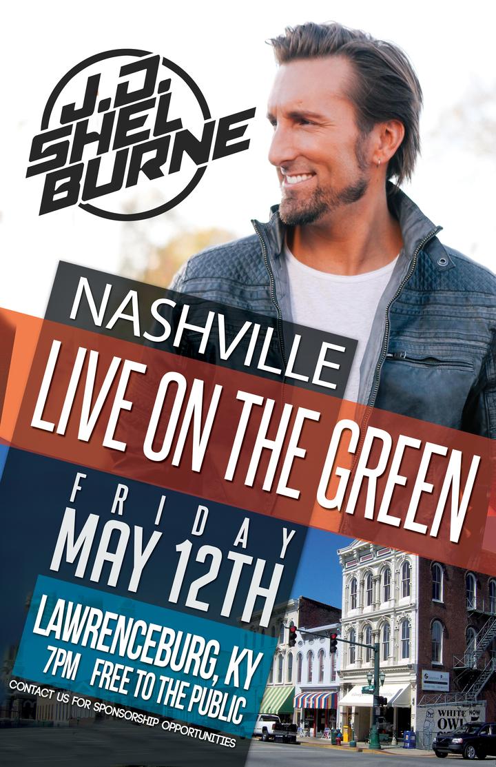 JD Shelburne @ Nashville LIVE on the Green - Headliner Concert - Lawrenceburg, KY