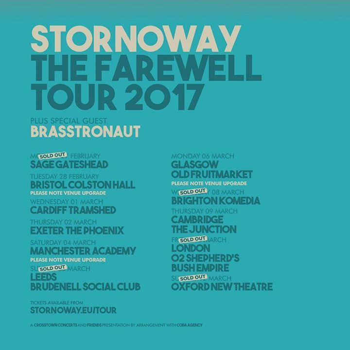 Stornoway @ The Old Fruitmarket - Glasgow, United Kingdom