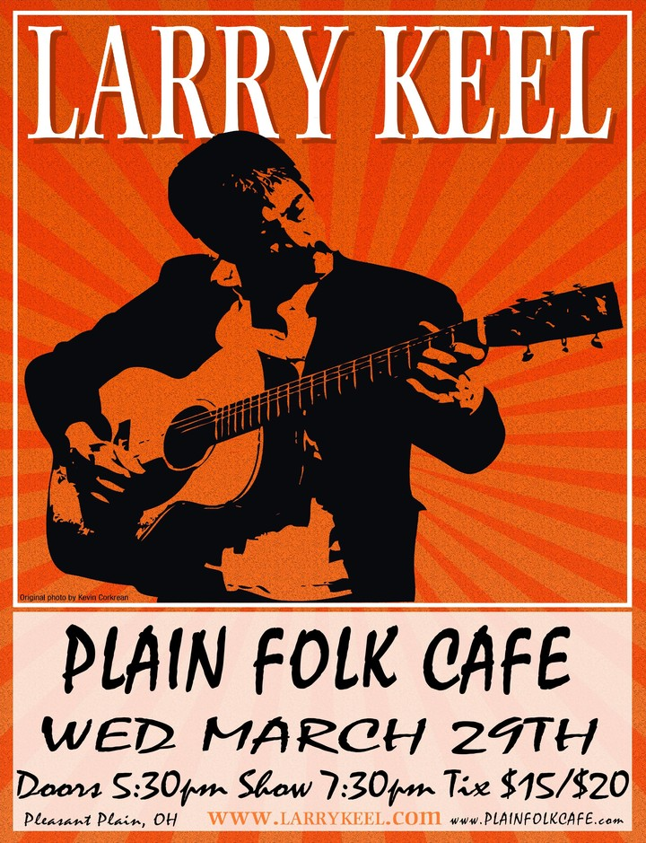 Larry Keel @ Plain Folk Cafe - Pleasant Plain, OH