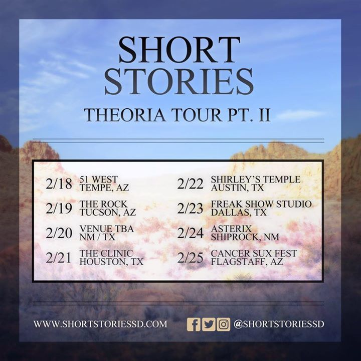 Short Stories Tour Dates
