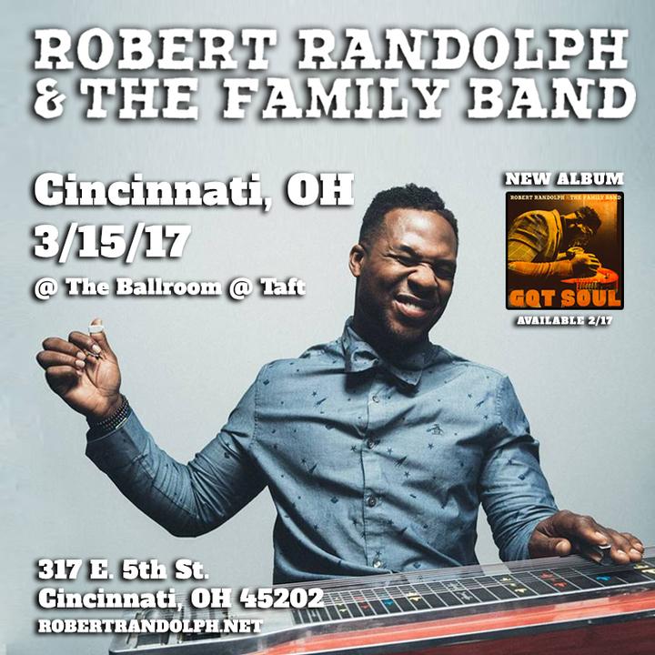 Robert Randolph & the Family Band @ Taft Theatre - Cincinnati, OH