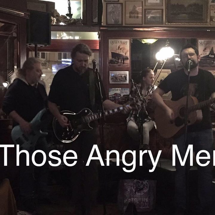 Those Angry Men Tour Dates