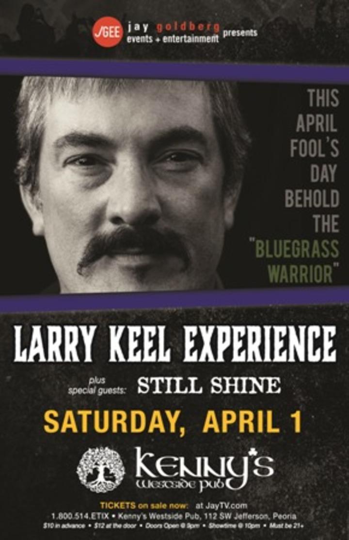 Larry Keel @ KENNY'S WESTSIDE PUB - Peoria, IL