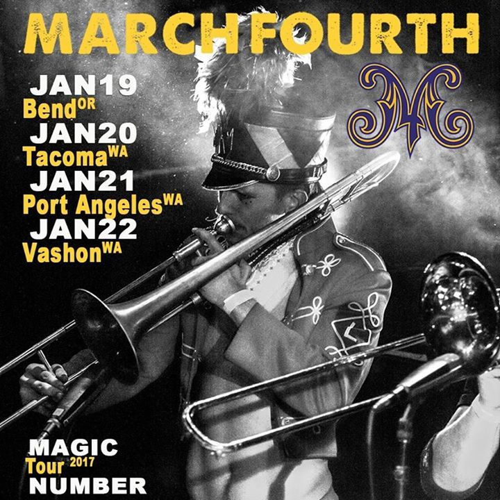 MarchFourth @ O Open Space for Arts and Community - Vashon, WA
